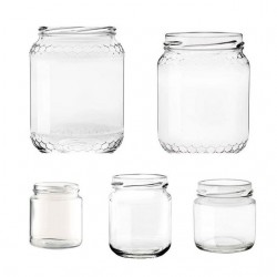 Vasetto miele 0,50 Kg senza tappo 390 (T70)
